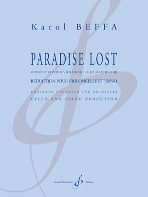 Paradise Lost Karol Beffa Partition Violoncelle - laflutedepan