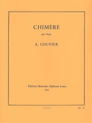 Chimère Alain Louvier Partition Harpe - laflutedepan