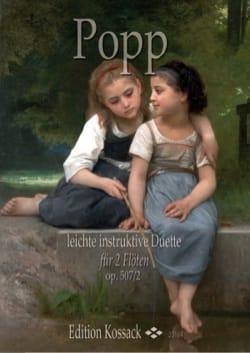 Duos faciles, op. 507 n° 2 - 2 Flûtes Wilhelm Popp laflutedepan