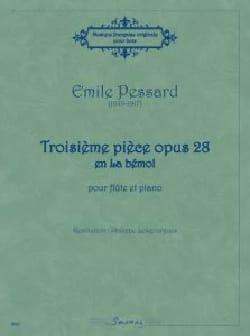 Troisième pièce opus 28 en La bémol Emile Pessard laflutedepan