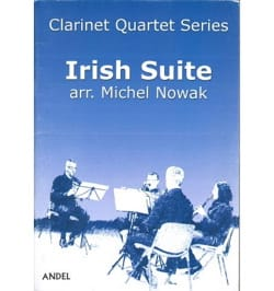 Irish Suite - 4 Clarinettes Michel Nowak Partition laflutedepan