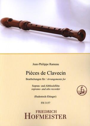 Jean-Philippe Rameau - Harpsichord Pieces - 2 Recorders - Sheet Music - di-arezzo.com