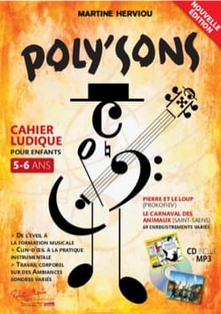 Martine Herviou - Poly'sons - Sheet Music - di-arezzo.co.uk