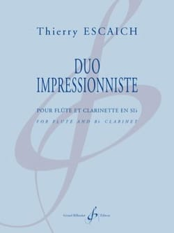 Duo Impressionniste Thierry Escaich Partition Duos - laflutedepan