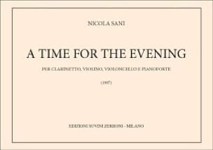 A time for the evening - Nicola Sani - Partition - laflutedepan.com