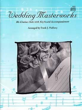Auteurs Divers - Wedding Masterworks avec CD - Partition - di-arezzo.fr