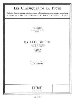 Jean-Baptiste Lully - Ballets of King Ariette in Rondeau - Piano Flute - Sheet Music - di-arezzo.com