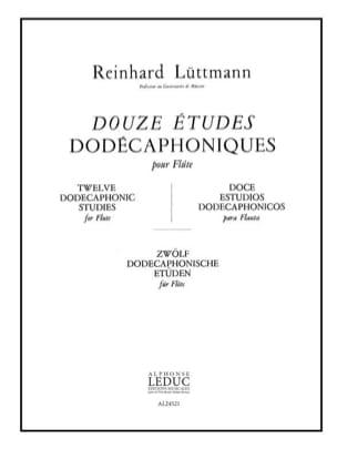 12 Etudes dodécaphoniques - Flûte - laflutedepan.com