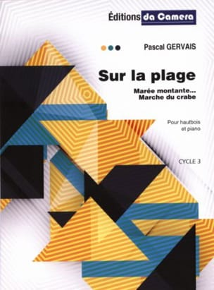Pascal Gervais - オンザビーチ - オーボエとピアノ - 楽譜 - di-arezzo.jp