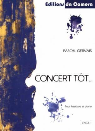 Concert Tôt... - Hautbois et Piano Pascal Gervais laflutedepan