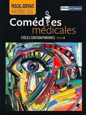 Comédies Médicales - Hautbois seul - Pascal Gervais - laflutedepan.com