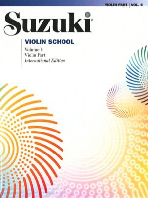 Suzuki - Suzuki violin school vol. 8 - revised version - Sheet Music - di-arezzo.com