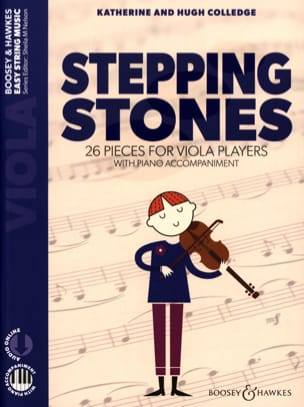 Stepping Stones - Alto et Piano Partition Alto - laflutedepan