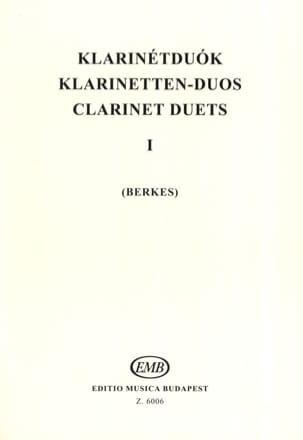 - Klarinetten-Duos 1 - Partition - di-arezzo.fr