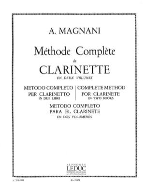 Méthode complète de clarinette - Volume 2 - laflutedepan.com