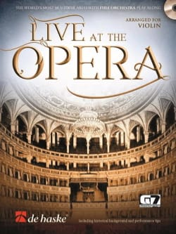 Live at the Opera - Violin - Sheet Music - di-arezzo.co.uk