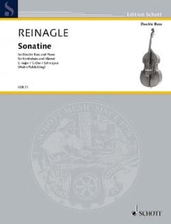 Sonatine - Contrebasse et Piano - Joseph Reinagle - laflutedepan.com