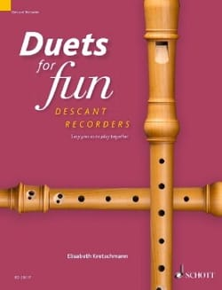 Duets for Fun - Flûtes à Bec Soprano Partition laflutedepan