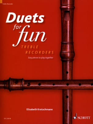 Duets for Fun - Flûtes à Bec Alto Partition laflutedepan