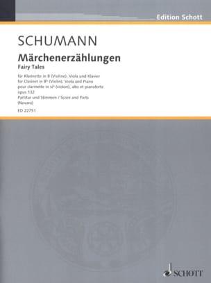 Märchenerzählungen, op. 132 SCHUMANN Partition Trios - laflutedepan