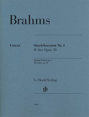 BRAHMS - String Sextet n ° 1 - Separate parts - Partition - di-arezzo.com