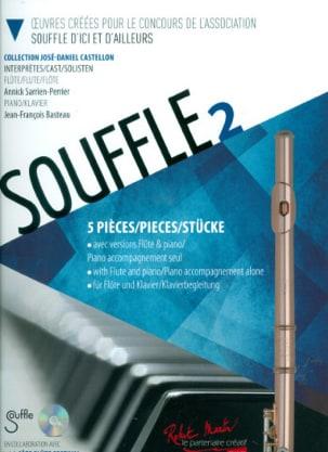 Souffle 2 - Flûte et Piano - Partition - laflutedepan.com