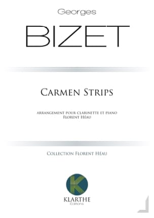 Carmen Strips BIZET Partition Clarinette - laflutedepan