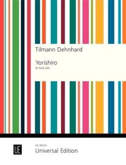 Yorishiro - Flûte seule - Tilmann Dehnhard - laflutedepan.com