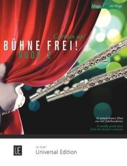 - ¡Bühne Frei! Duos 2 - 2 flautas - Partitura - di-arezzo.es