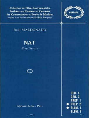 Nat Raul Maldonado Partition Guitare - laflutedepan