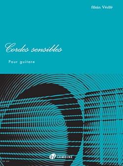Cordes Sensibles - Guitare Alain Vérité Partition laflutedepan