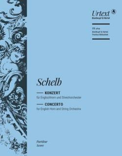 Josef Schelb - Concerto - Cor Anglais et Piano - Partition - di-arezzo.fr