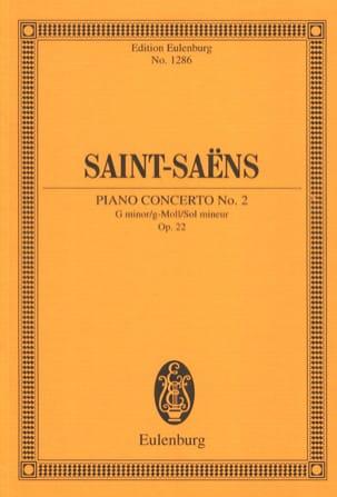 Concerto pour Piano n° 2 - Conducteur SAINT-SAËNS laflutedepan