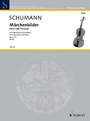 SCHUMANN - Märchenbilder - Alto et Piano - Partition - di-arezzo.fr