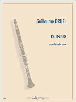 Djinns Guillaume Druel Partition Clarinette - laflutedepan