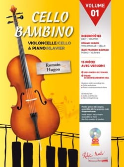 Romain Hugon - Cello Bambino - Volume 01 - Sheet Music - di-arezzo.co.uk