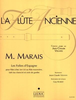 Marin Marais - Follies of Spain - grabadora, laúd y viol - Partitura - di-arezzo.es