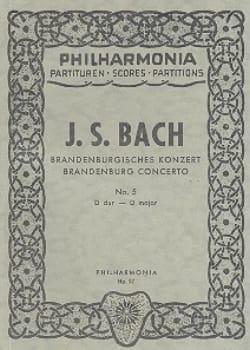 Brandenburgisches Konzert Nr. 5 D-Dur - Partitur - laflutedepan.com