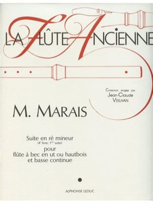 Marin Marais - Suite in D minor - Recorder or Oboe and Bc - Sheet Music - di-arezzo.co.uk