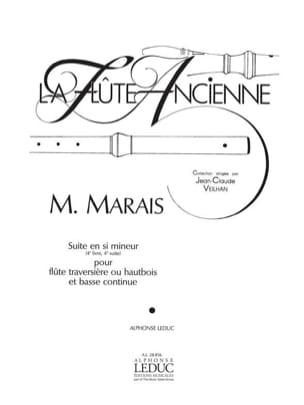 Suite en si mineur 4e Livre, 4e Suite - Flûte hautbois Bc laflutedepan