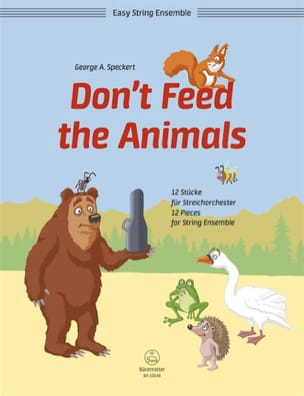George A. Speckert - Don't Feed the Animals - Partition - di-arezzo.fr