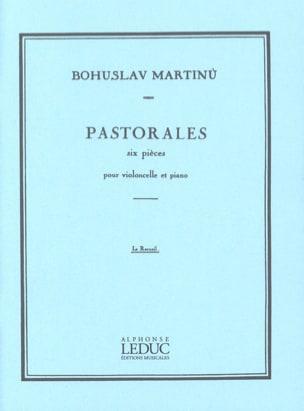 Pastorales MARTINU Partition Violoncelle - laflutedepan