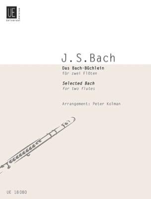 Bach Johann Sebastian / Kolman Peter - Das Bach-Büchlein - 2 Flöten - Partition - di-arezzo.fr