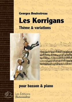 Georges Boulestreau - The Korrigans - Bassoon and Piano - Sheet Music - di-arezzo.com