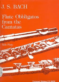 BACH - Flute Obbligatos from the Cantatas - Flûte solo - Partition - di-arezzo.fr