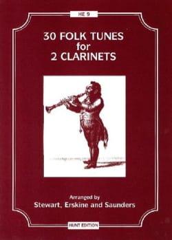 - 30 Folk tunes for 2 clarinets - Partition - di-arezzo.fr