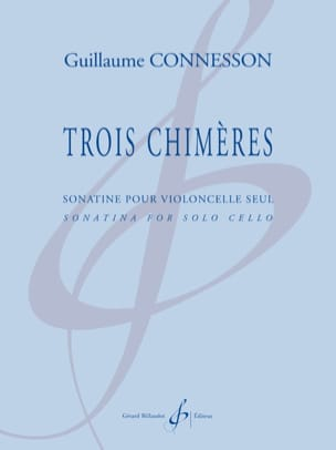Guillaume Connesson - Three chimeras - Sheet Music - di-arezzo.co.uk