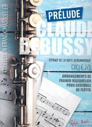 Prélude - Ensemble de Flûtes - DEBUSSY - Partition - laflutedepan.com