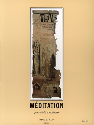 Jules Massenet - Thais Meditation - Flute - Sheet Music - di-arezzo.co.uk