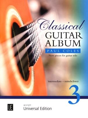 Classical Guitar Album 3 Paul Coles Partition Guitare - laflutedepan